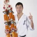 全日本チャンピオンの鎌田翔平選手による壮行稽古会