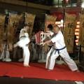渋谷のさくら祭りにて空手演武を披露しました!