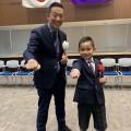 渋谷区教育委員会児童・生徒等表彰式にて代官山道場の尾本君が表彰されました!