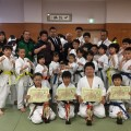 平成29年 第33回青森県空手道選手権大会  3名優勝!
