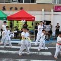 北上市お祭りでの演武会