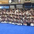 第6回全世界ウエイト制空手道選手権大会中量級日本代表 大澤佳心選手のワンポイントセミナー&講演会を行いました。