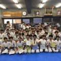 城西世田谷東支部三軒茶屋道場の6年生を送る会を行いました。(2018/3/17 三軒茶屋道場)