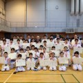 城西世田谷東支部 支部内交流試合を開催しました。(2018/4/29 ゆうぽうと世田谷レクセンター体育館)