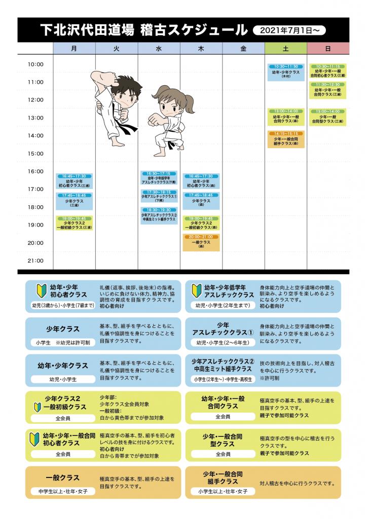 下北沢代田2021年7月