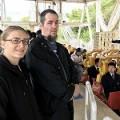 ポールとカーラ(オーストラリア支部)、鷲羽山ハイランドで悲鳴。