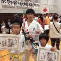 2014全四国体重別空手道選手権大会とKOBE'S CUP2014の結果!