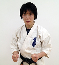 指導員 竹田 明子 初段