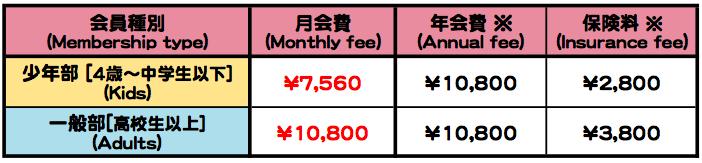 料金表 のコピー