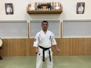 貝塚道場指導員 東浦吉夫