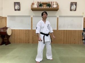 貝塚道場副指導員 尾崎直人
