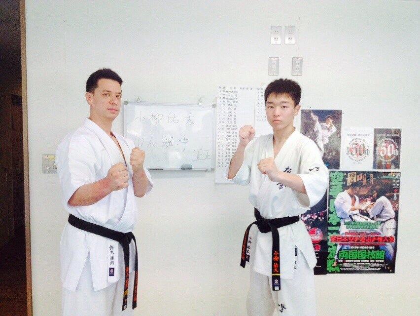 2014春季昇段昇級審査会小柳佑太10人組手 006