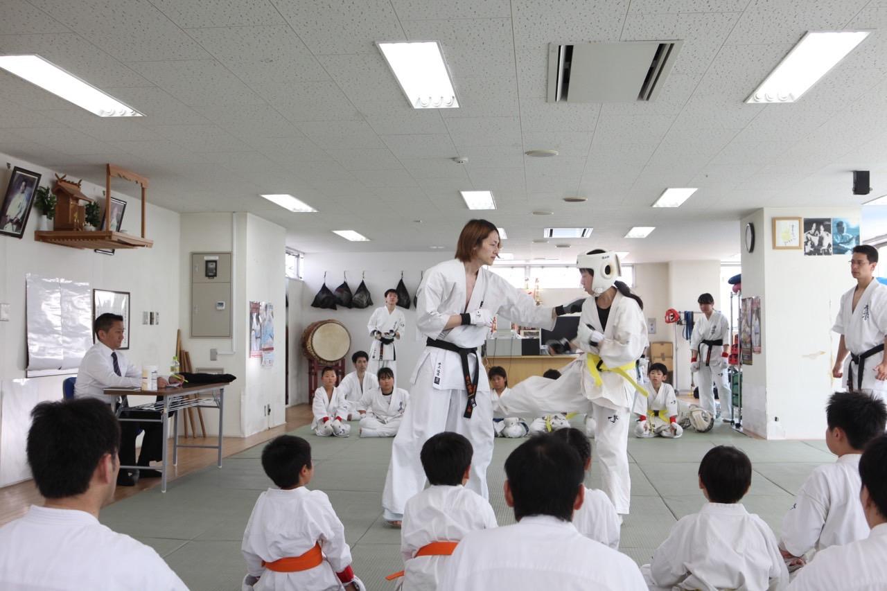 2015夏季昇級審査会 宮原組手001