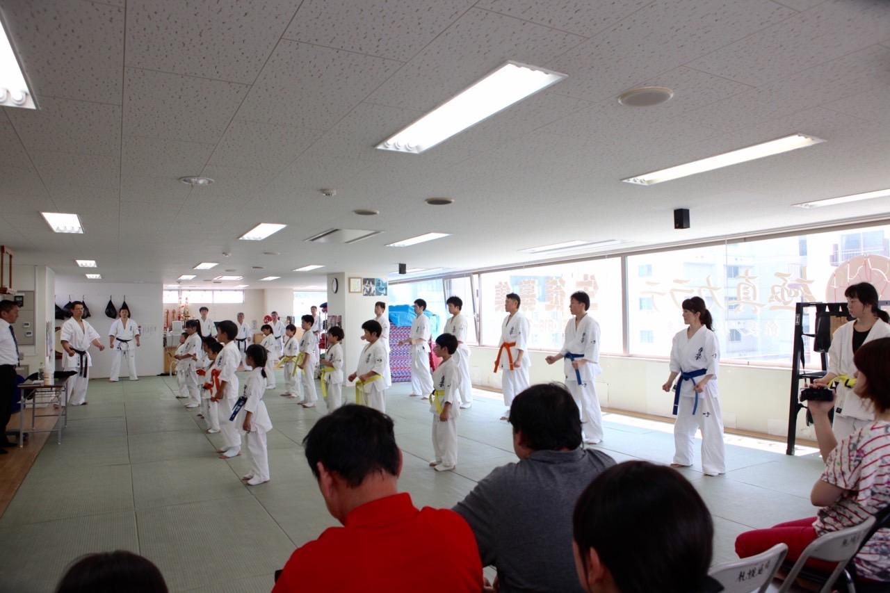 2015夏季昇級審査会 成嶋師範代挨拶 001