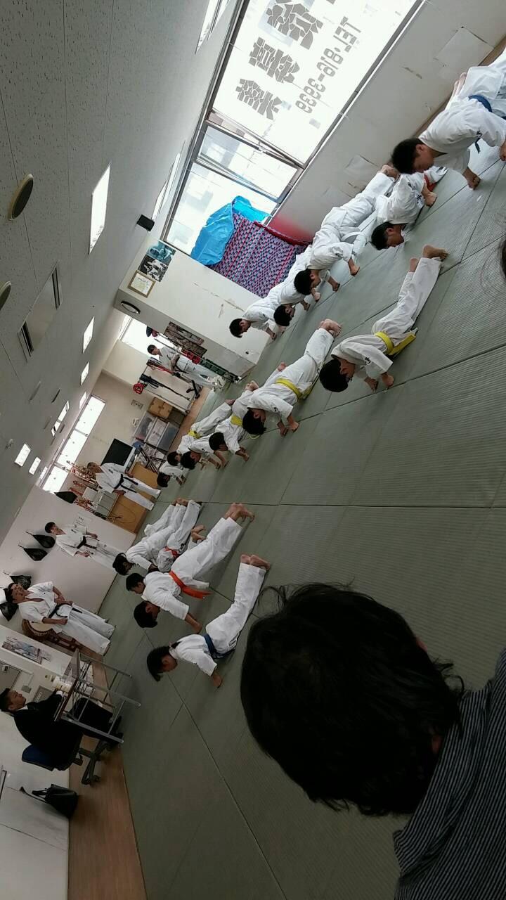 2015夏季昇級審査会 拳立て004