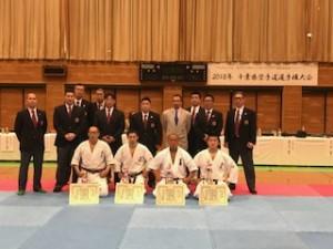 2018年 千葉県空手道選手権大会①(H30.3.11)