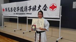 2019年 群馬県空手道選手権大会(R1.5.19)